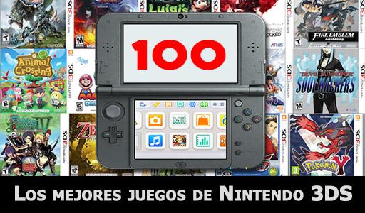Los 100 Mejores Juegos De Nintendo 3ds