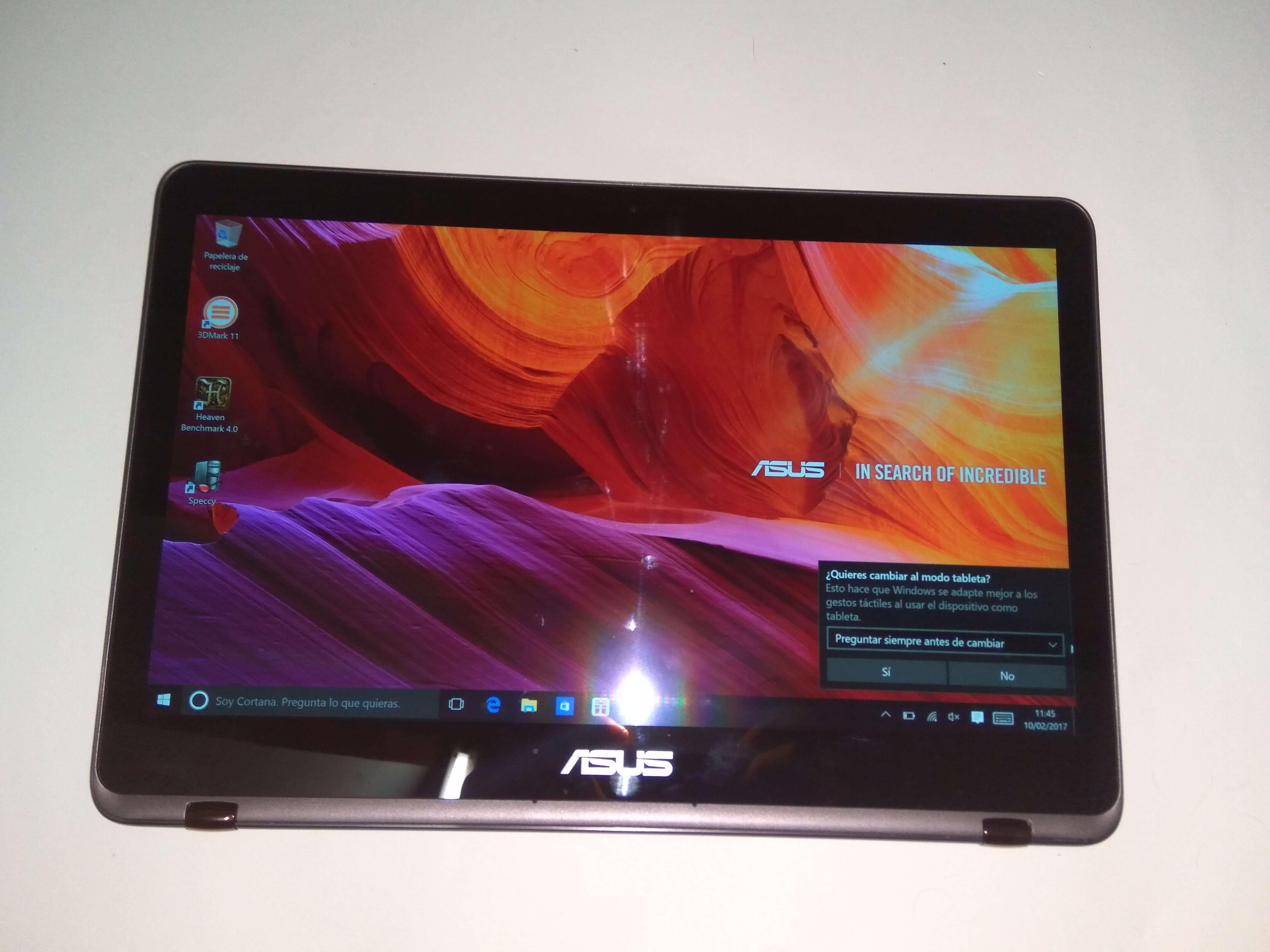 Review: Asus Zenbook Flip UX360U, portátil híbrido con batería para largo 7