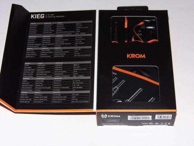 Review: Krom Kieg, auriculares intrauditivos de calidad por 16€ 4