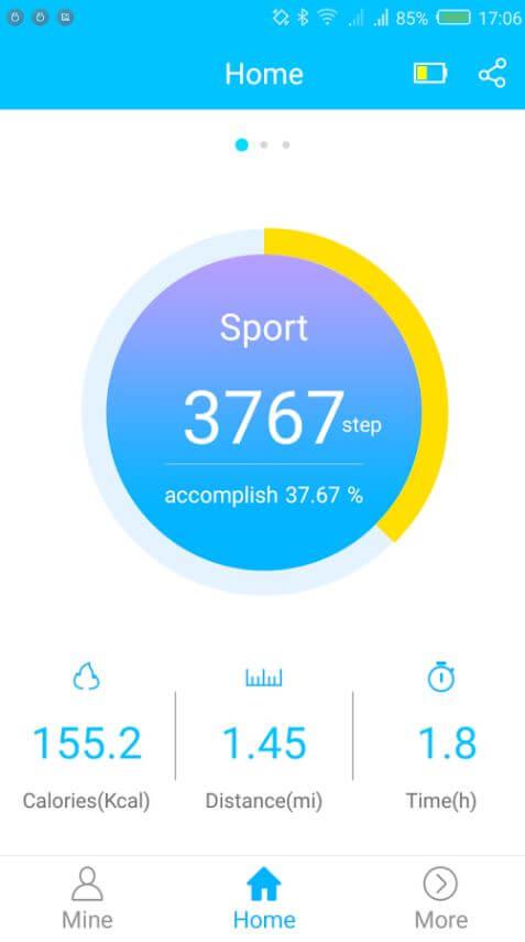 Review: NO.1 F3 Sports Smartwatch, económico y funcional 8